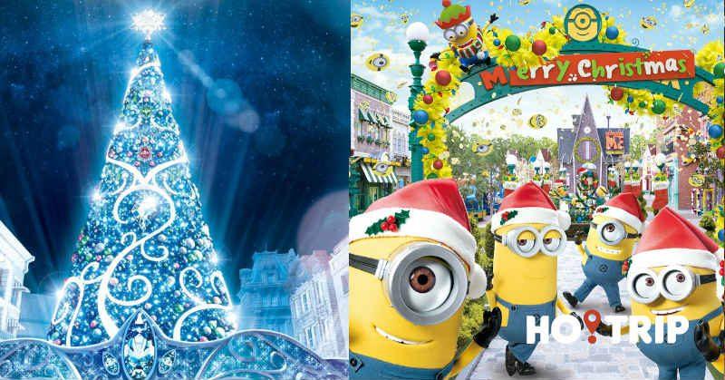 同小黃人一齊過聖誕!日本環球影城夜間新表演+30米的全新水晶聖誕樹登場