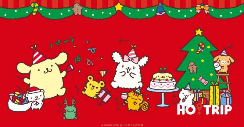 日本布甸狗Cafe換上新裝 戴上聖誕帽子和你過聖誕