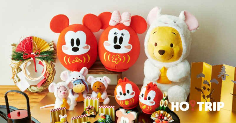 日本迪士尼推出新年限定商品(一) 白色的維尼也太可愛了吧!