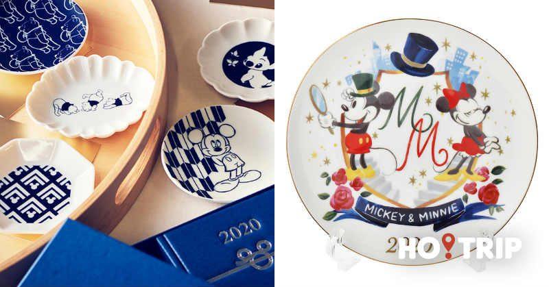 日本迪士尼推出新年限定商品(五) 2020年迪士尼紀念碟值得珍藏