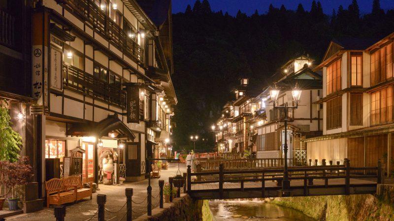 4.銀山温泉